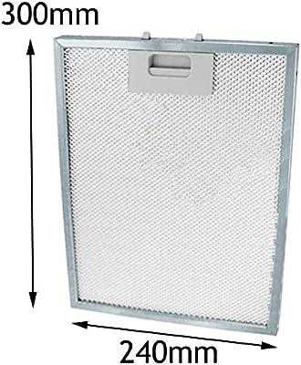 Spares2go Ventilación Extractor Filtro de malla de Metal para Hygena Cocina Campana rejilla de ventilación (300 x 240 mm): Amazon.es: Hogar