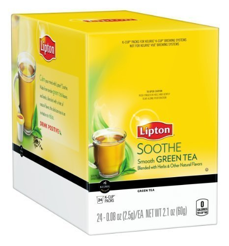 Lipton K Cups SOOTHE Green Count