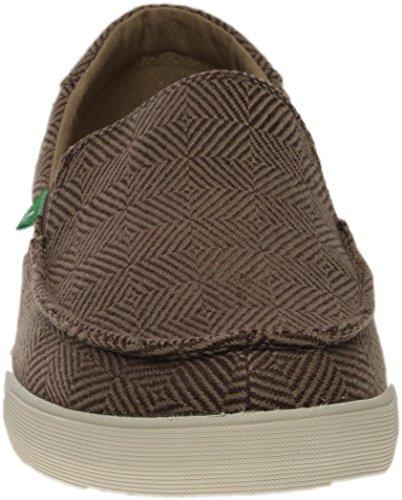 Chaussures à marron Checked enfiler à Sanuk carreaux Sideline ExOnCUqYwa