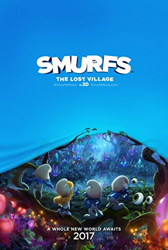 smurfs-the-lost-village-11x17-d-s-original-promo-movie-poster-2017-games-on-back