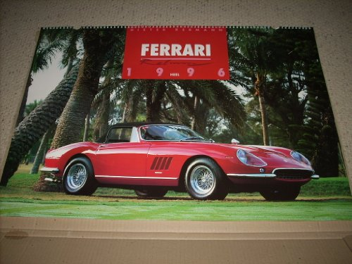 FERRARI 1996 German Color Calendar 26