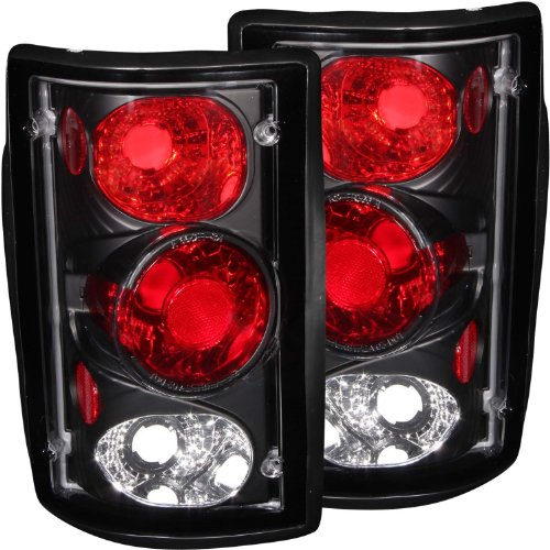 Anzo USA 211051 Ford Excursion Black Tail Light Assembly - (Sold in Pairs) from ANZO USA