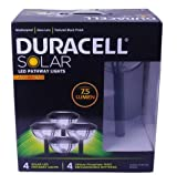 Duracell Advanced Solar Pathway Light Set, 4pk, Black - Best Reviews Guide