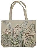 Ecolicious Mambo Jambo 100% Cotton Canvas Tote Bag from Hawaii