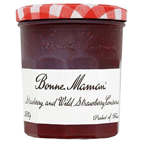 Bonne Maman Strawberry And Wild Strawberry 370G