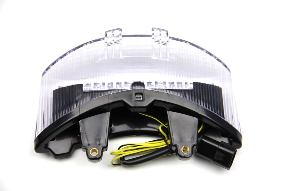 LED Taillight with Integrated turn signals for Triumph Speed Triple 2011//2018 Clear