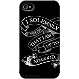I Solemnly Swear Black Phone Case for iPhone 5/5S/SE