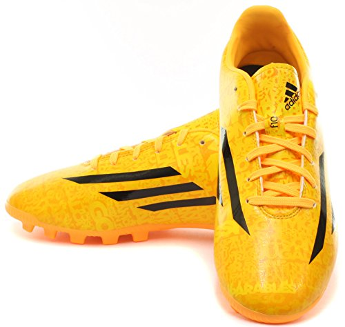 adidas Bota Jr F10 TRX AG Messi Solar gold-Negra Solar gold-Negra