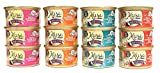 Muse by Purina Infused Grain Free Pate Natural Recipe Wet Cat Food Variety Bundle - 4 Flavors (Chicken & Tuna, Ocean Whitefish, Salmon, Chicken), 3 Ounces Each (12 Total Cans) Larger Image