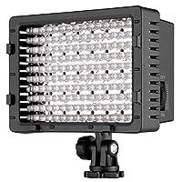NEEWER 160 LED CN-160 Dimmable Ultra High Power Panel Cámara digital /Videocámara Luz de video, Luz LED para cámaras SLR digitales Canon, Nikon, Pentax, Panasonic, SONY, Samsung y Olympus