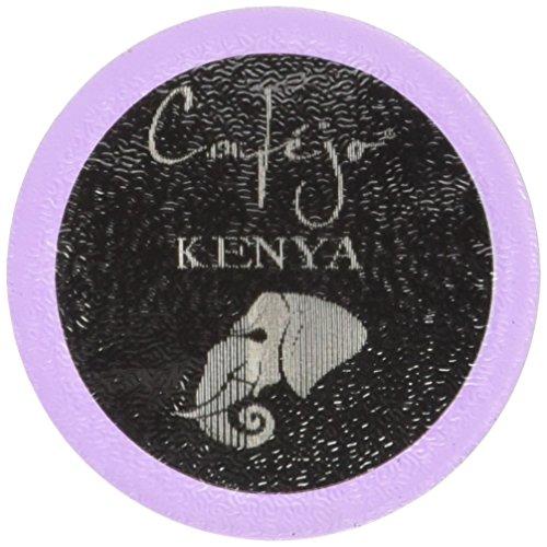Cafejo K-Cups, Kenya Coffee, 50 Count