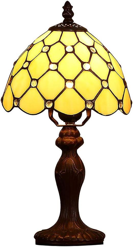 LWPCP Lámpara De Mesa De Tiffany Lámpara Minimalista Moderna ...