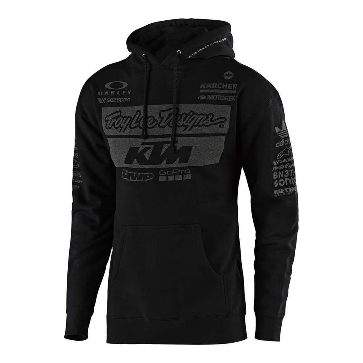 2019 Troy Lee Designs Men's KTM Team Pullover Hoody,Medium,Black