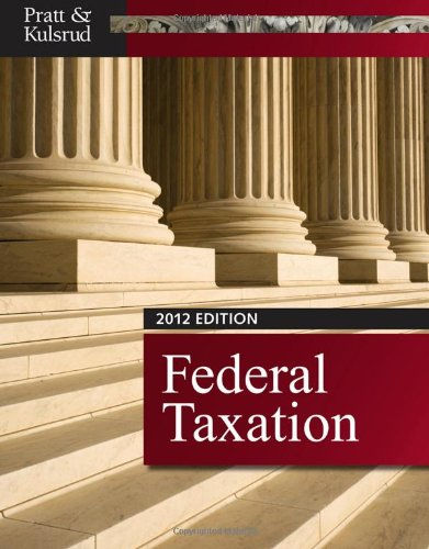 Federal Taxation 2012 (with H&R BLOCK At HomeTM Tax Preparation Software CD-ROM, CPAexcel 2012 Printed Access Card)