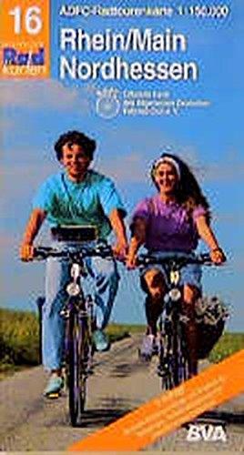 Radtourenkarten 1:150000 (ADFC): ADFC Radtourenkarten, Rhein/Main, Nordhessen (Englisch) Taschenbuch – 1. Februar 2001 ADFC 16 RADTOURENKARTE BVA Bielefelder Verlag 3870730765 MAK_VRG_9783870730765