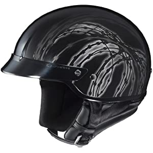 Hjc CS-2N Razor Mc-5 SIZE:MED Open Face Motorcycle Helmet