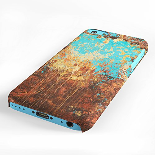 Koveru Back Cover Case for Apple iPhone 5C - Brushes Pattern