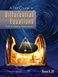 Bundle: a First Course in Differential Equations, 9th + Student Resource with Solutions Manual : A First Course in Differential Equations, 9th + Student Resource with Solutions Manual, Zill and Zill, Dennis G., 0495747076