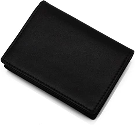 Coffee Leather Wallet Rcnry Mens Wallet Multi-Functional Zipper Pocket Purse with Scalp Black