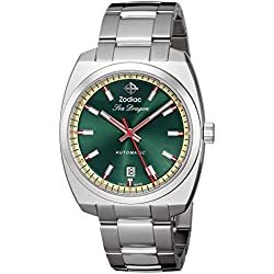 Zodiac Heritage Men's ZO9901 Sea Dragon Stainless Steel Automatic Watch
