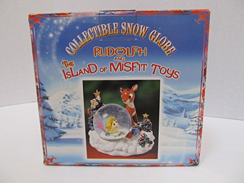 Rudolph the Red Nosed Reindeer & The Island of Misfit Toys Sam the Snowman and Animals Waterball - Snow Globe