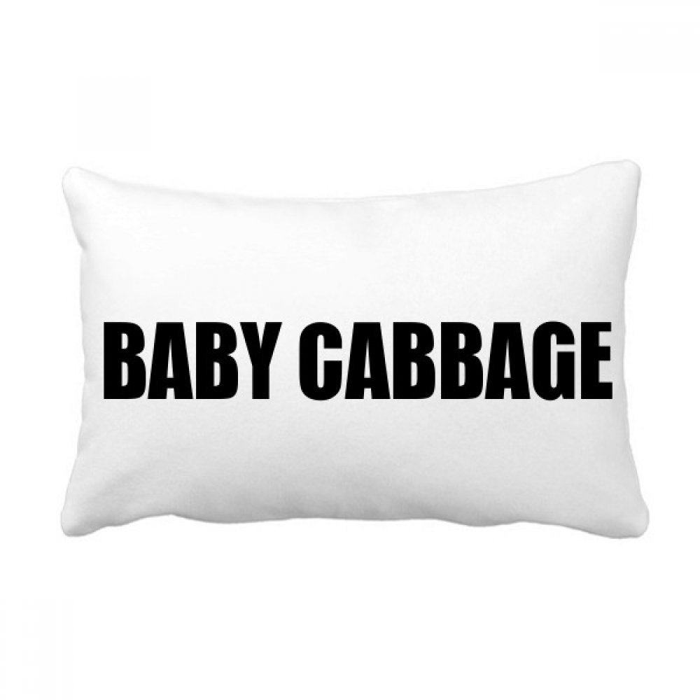 Buy Diythinker Baby Cabbage Vegetable Foods Throw Lumbar Pillow Insert Cushion Cover Home Sofa Decor Gift Online At Low Prices In India Amazon In