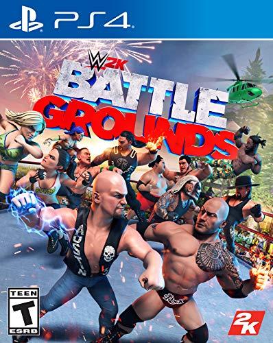 WWE 2K Games Battlegrounds – PlayStation 4 Standard Edition