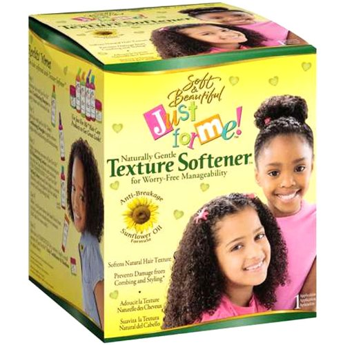 Just For Me Texture Softener Kit (Just For Me Soft And Beautiful Texture Softener)