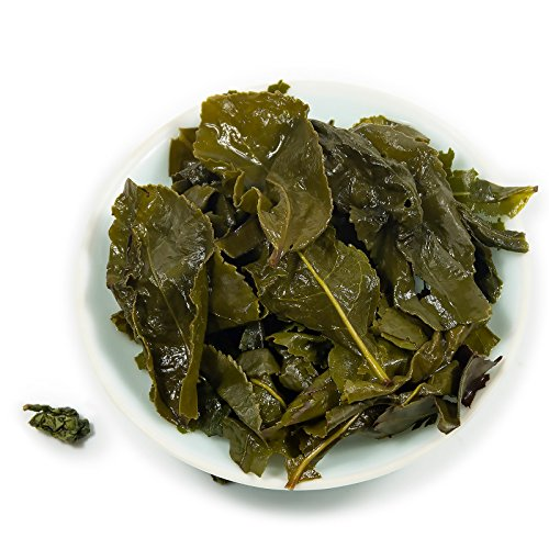 Oriarm 1kg Tie Guan Yin Oolong Tea from Anxi Fujian, Chinese Tieguanyin Oolong Green Tea Loose Leaf, Natural Whole Leaves Rich Antioxidants Brew Hot Tea or Iced Tea by Oriarm (Image #6)