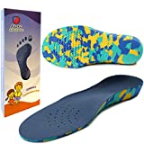 Ailaka Kids Orthotic Cushioning Arch Support Shoe Insoles, Children EVA Foam Inserts