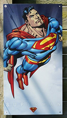Flying Tin Sign (Superman Flying Classic 8.5