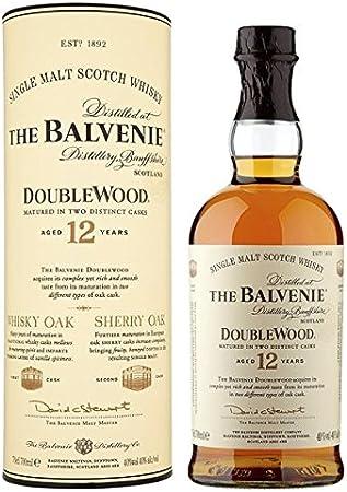El de 12 años Whisky escocés de 70cl Balvenie Doublewood (Pack de 70 cl)