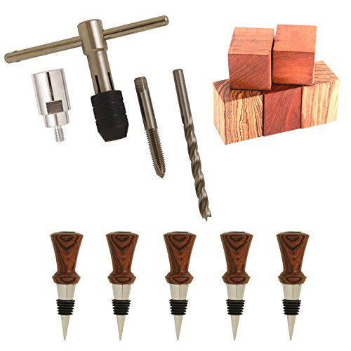 Penn State Industries BS1-SS7 Classic Bottle Stopper Woodturning Project Kit Starter Package