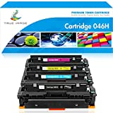 True Image Compatible Toner Cartridge Replacement for 046H Canon Cartridge 046H Canon Color ImageCLASS MF733Cdw MF731Cdw ImageCLASS MF735Cdw LBP654Cdw Larger Image