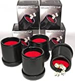 Bundle of 4 Professional Dice Cups