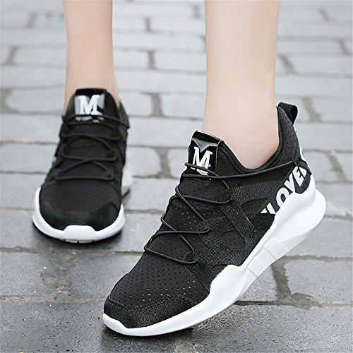 9doo - zapatilla baja chica negro
