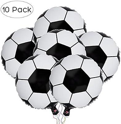 BESTOYARD 10 Unids Soccer World Cup Globos Balón de Fútbol de ...