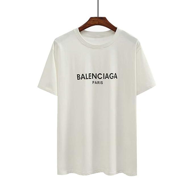 バレンシアガ BALENCIAGA tシャツ メンズ レディース 半袖 アウター 夏 半袖Tシャツ トップス 黒 白 [