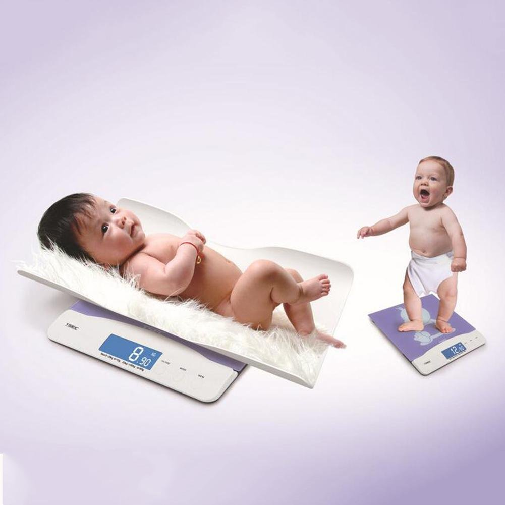 LPY-High Precision Electronic Baby Scales, 0.1 Seconds Rapid Induction Recognition Automatic Identification Of Two Weighing Modes,, For Babies, Pregnant Women, Adults, Children, Pets
