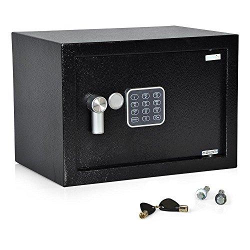 14. SereneLife Fireproof Lockbox
