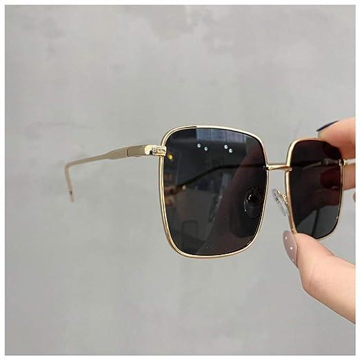 Yangjing-hl Gafas de Sol Mujer Vintage Gafas de Gran tamaño ...