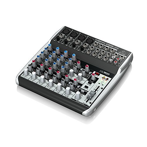 Behringer Xenyx Q1202USB 12-input, 2-bus Analog Mixer with 1 Year EverythingMusic Extended Warranty Free