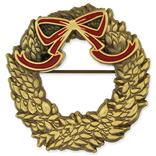 Gold Enamel Wreath - 9