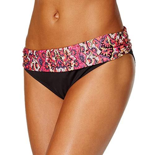 Kenneth Cole REACTION Women's Beyond The Sea Sash Bikini Bottom, Pink Glo, Large