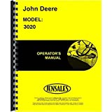 New Operators Manual For John Deere Tractor 3020 G & D (0-67,999)