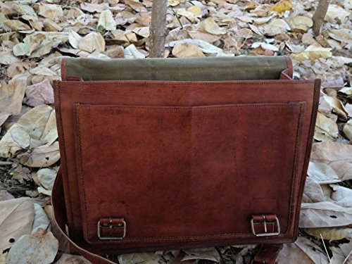 KRISHHANDCRAFTS , Borsa Messenger  marrone BROWN