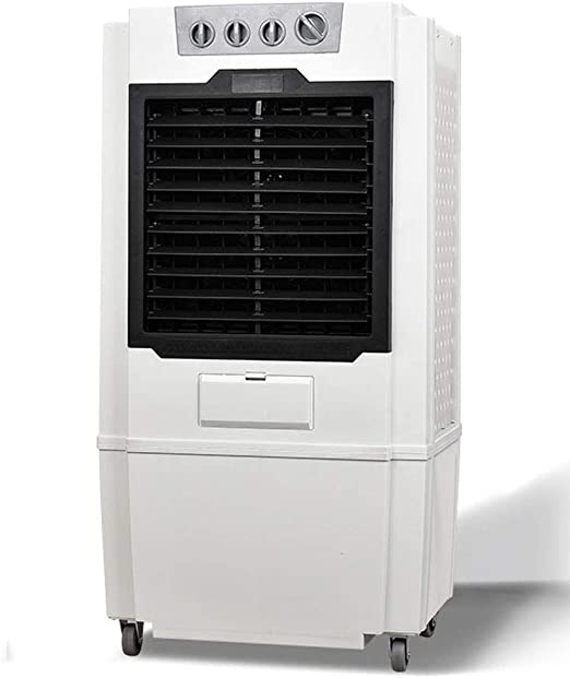 cher Refrigerador de Aire móvil, Ventilador de Aire Acondicionado Grande, Aire Acondicionado Industrial, Ventilador de refrigeración doméstico, Aire Acondicionado refrigerado por Agua ecológico: Amazon.es: Hogar