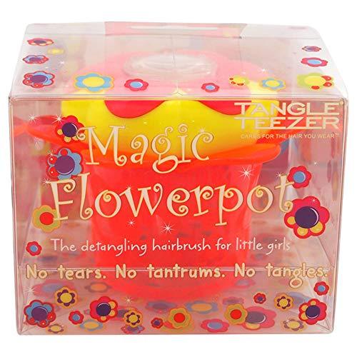 Tangle Teezer Magic Flowerpot Hairbrush for Kids, Princess Pink (Best Clip In Hair Extensions Uk Reviews)