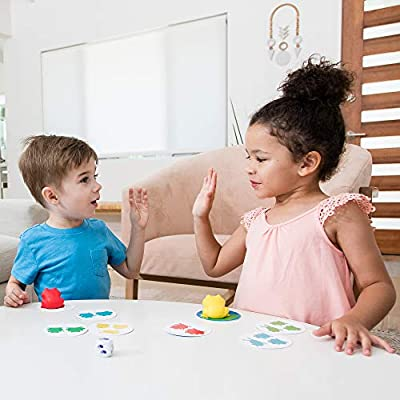 Educational Insights 1-2-3 Froggies - Counting & Color Matching Game for Preschoolers│ No Reading Required│ Ages 3+: Toys & Games