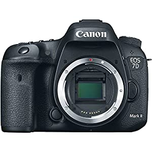 Canon EOS 7D Mark II 20.2MP HD 1080p DSLR Camera Body Only (Renewed)